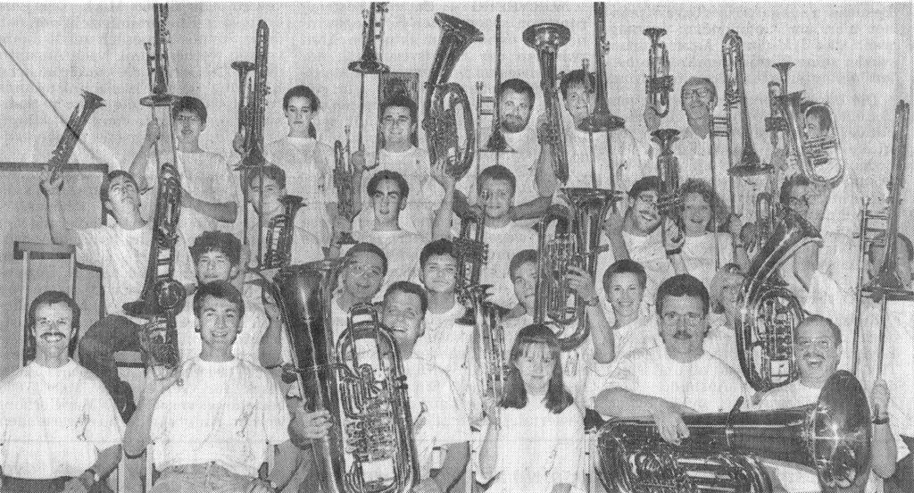 Bild aus dem Zeitungsartikel von 1995